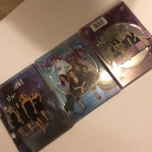 SEX AND THE CITY seasons 1, 2, and 3 DVD